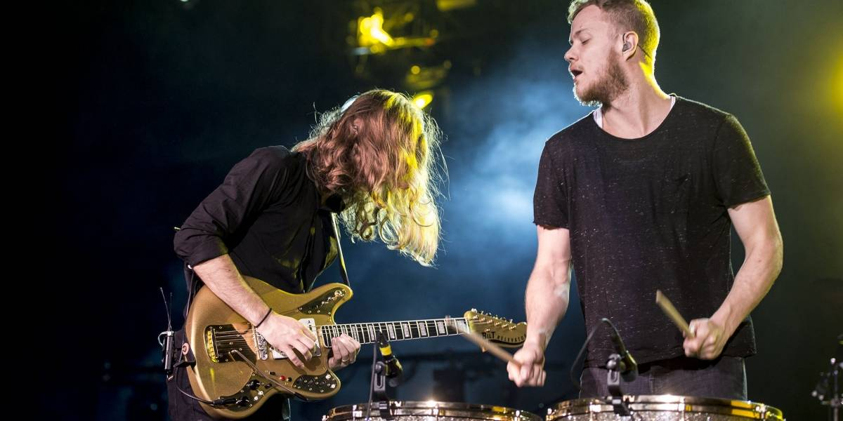 (Video) Imagine Dragons enciende la final de la Champions League