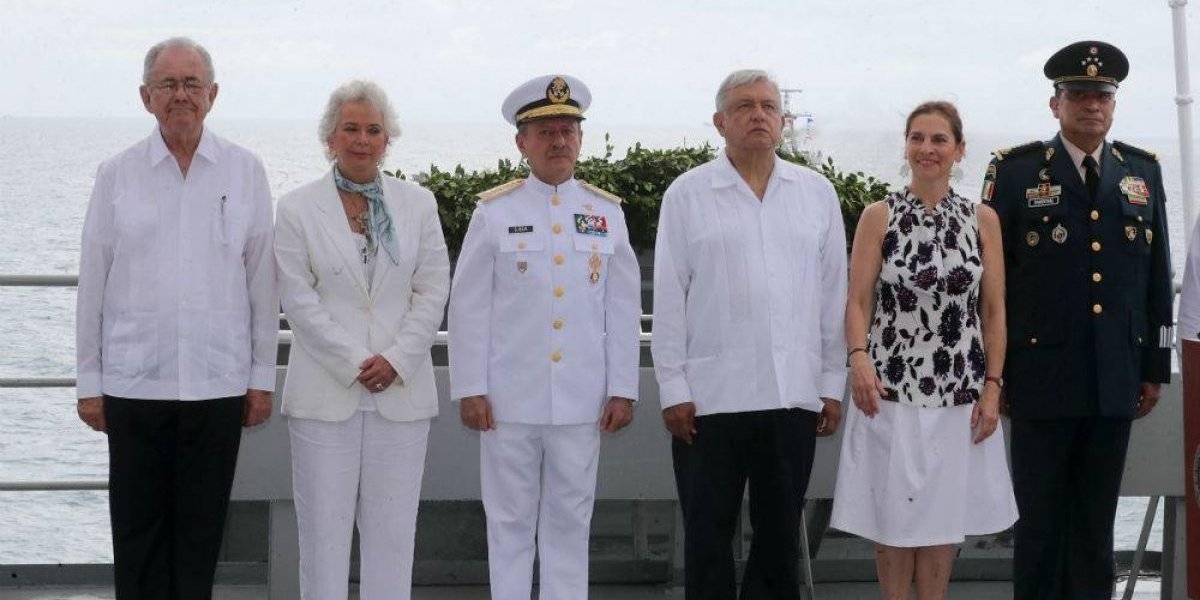 AMLO conmemora Día de la Marina a 102 años de su nacionalización
