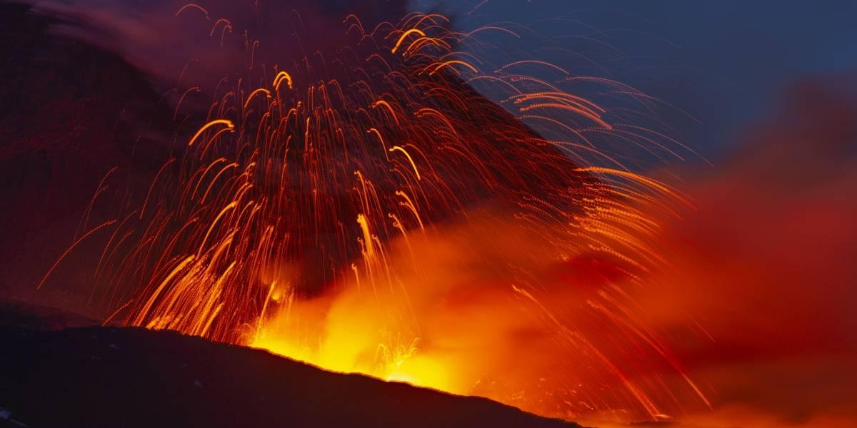 Erupción del monte Etna: las impactantes imágenes que dejó el gran volcán de Italia