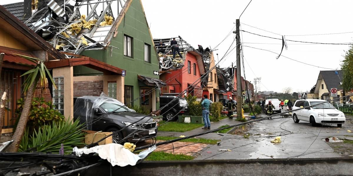 El día después de los tornados: afectados recibirán dinero del gobierno y ayuda del Ejército para la reconstrucción