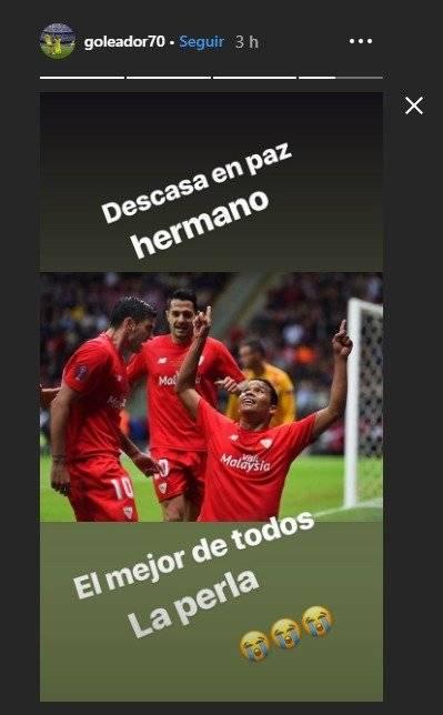 Falcao y Bacca por la muerte de José Antonio Reyes