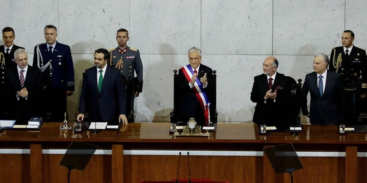 Presidente Piñera realizó segunda Cuenta Pública proponiendo la reducción del tamaño del Congreso
