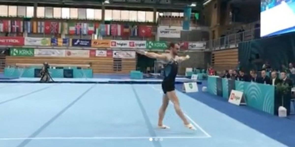 Tomás González vuelve a brillar al ganar medalla de oro en el World Challenge de Eslovenia