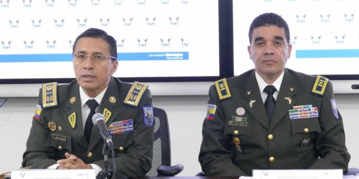 Policía Nacional informa acciones ante problemática en cárceles de Ecuador