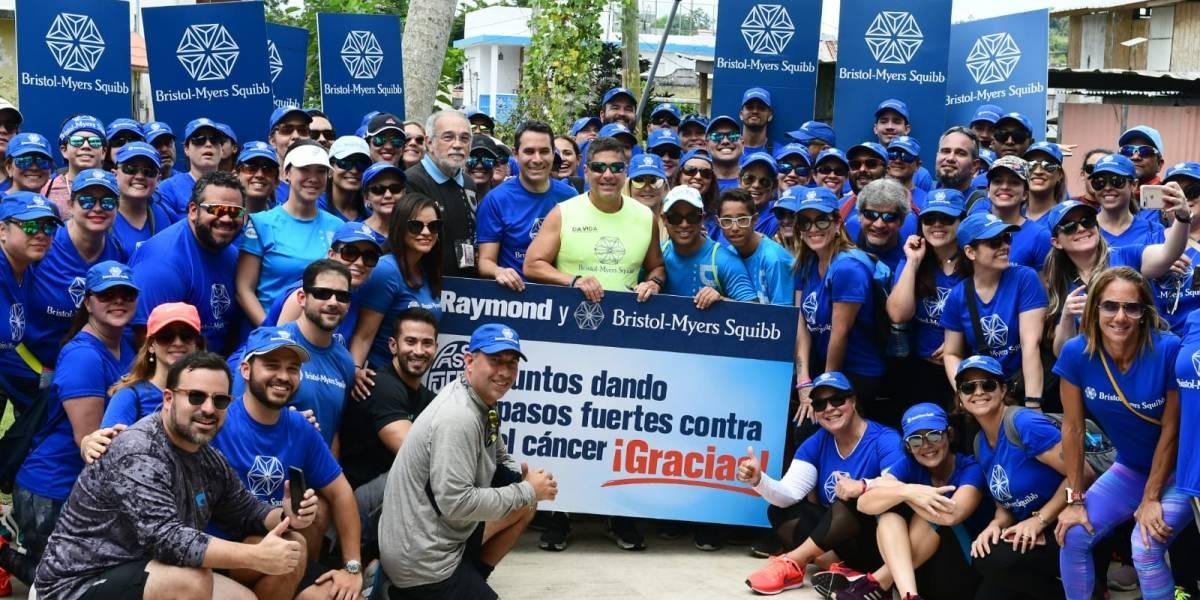 Apoyan a Raymond en solidaridad con los pacientes del Oncológico