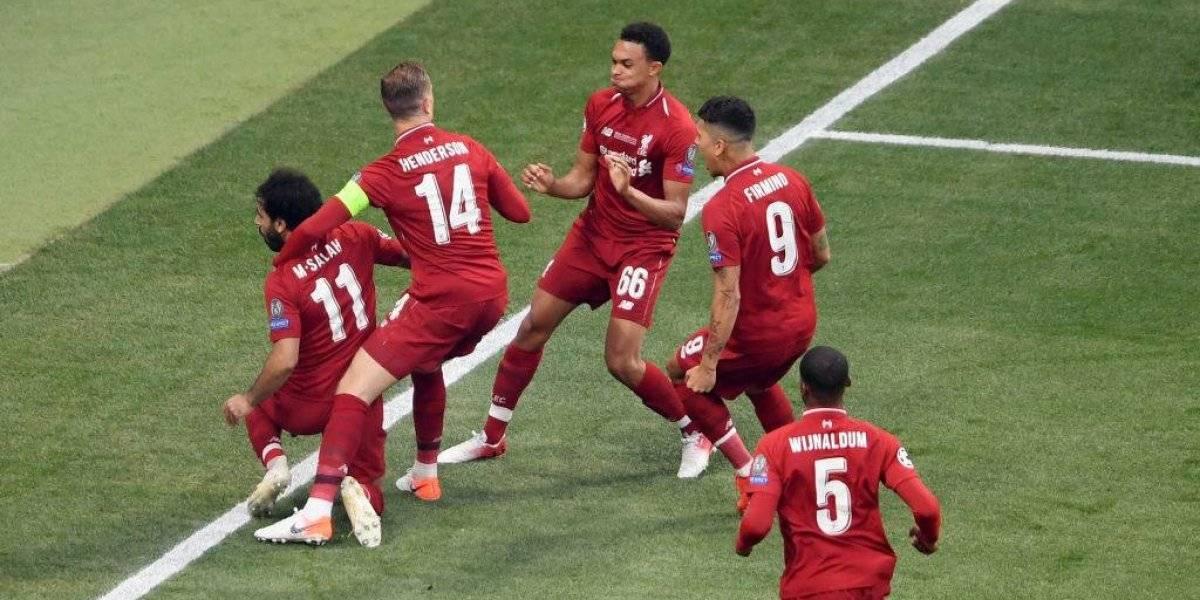 Liverpool se declara campeón de la Champions League tras derrotar a Tottenham