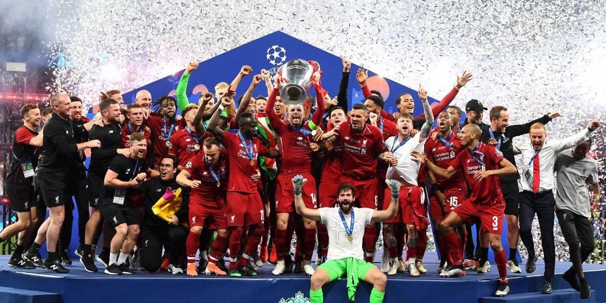 Liverpool 'caminó solo' para ganar la Champions