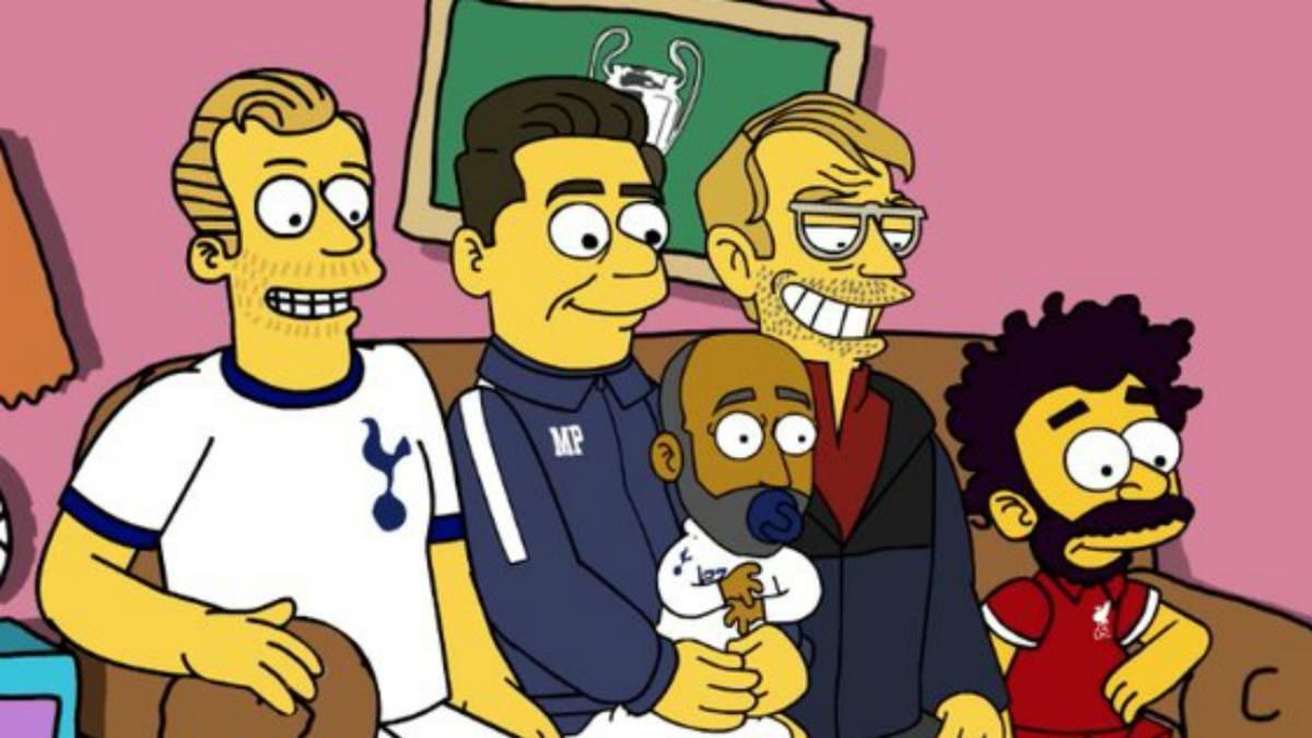 Los Simpson y la final de Champions League