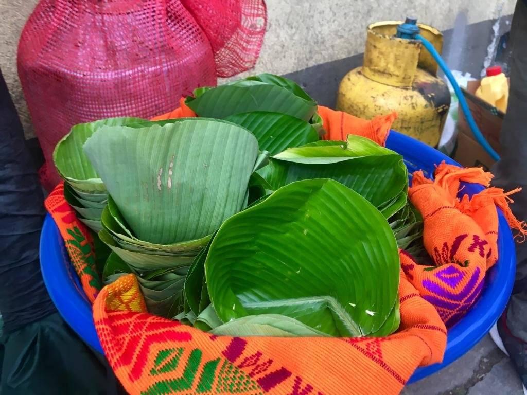 Totonicapense usa platos ecológicos