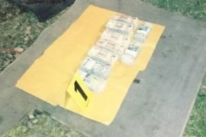 Un hombre fue capturado por la PNC en San Marcos por trasladar dinero de procedencia ilícita.