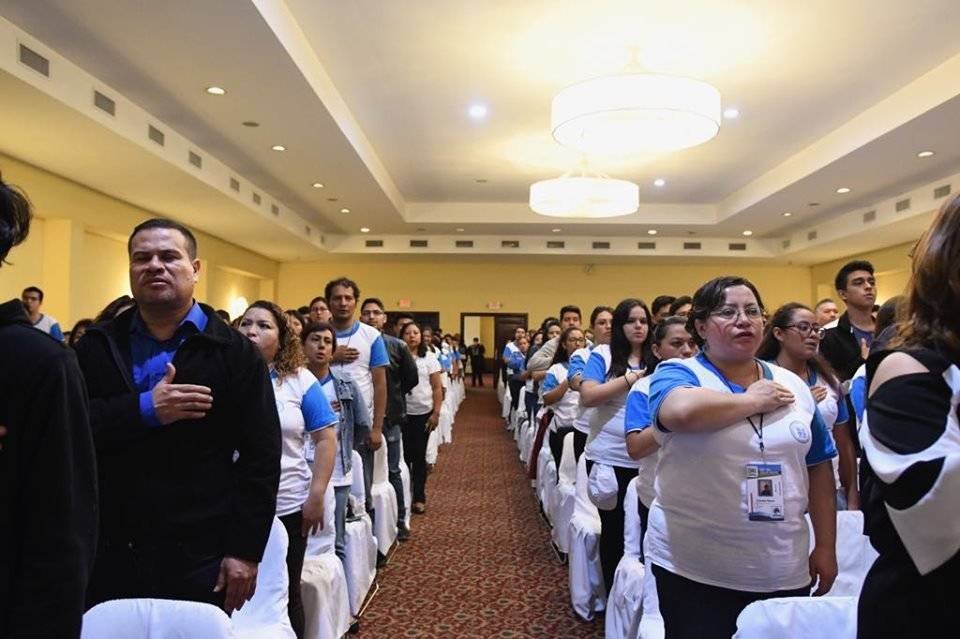 Voluntariado para las elecciones generales 2019. Foto: Omar Solís