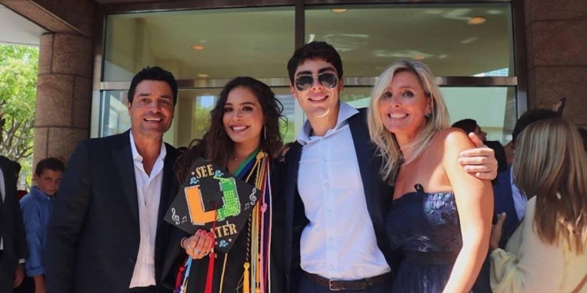 Hija de Chayanne se gradúa de escuela superior