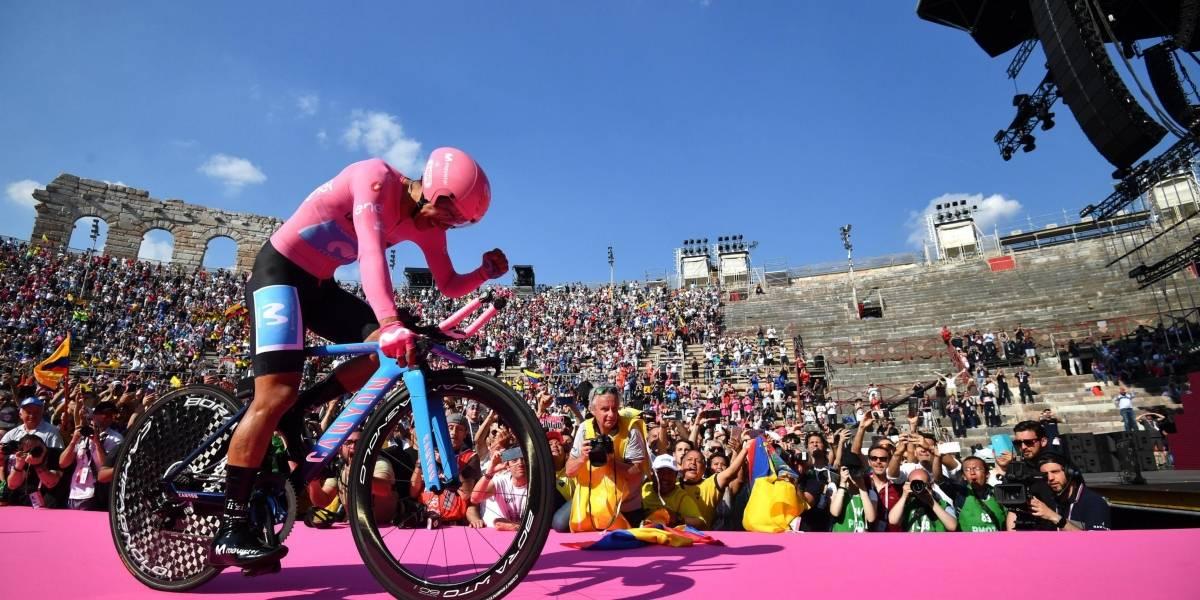 Richard Carapaz ganó el Giro de Italia 2019