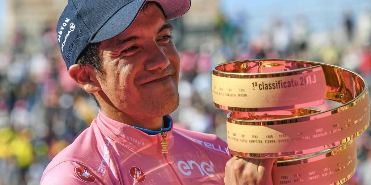 El mensaje de felicitación de Nairo Quintana para Richard Carapaz por su triunfo en el Giro de Italia