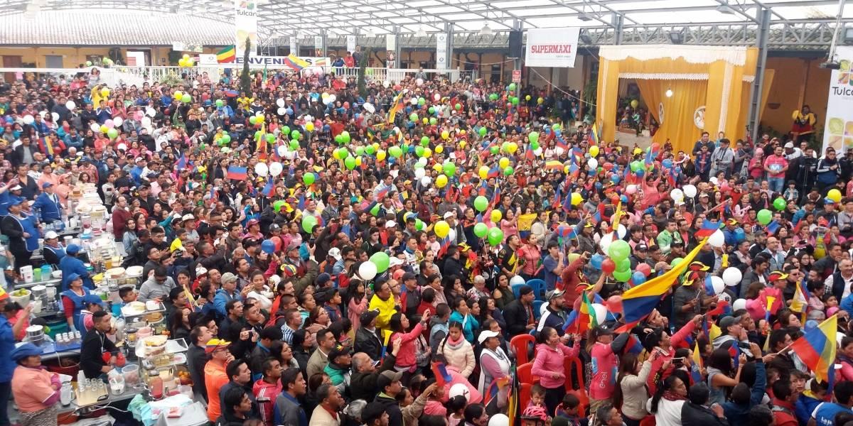 Tulcán, el pueblo natal de Richard Carapaz vibra con el triunfo de su héroe en el Giro de Italia