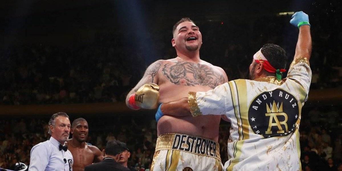 Campeón Andy Ruiz prefiere visitar la 'Casa Blanca mexicana'
