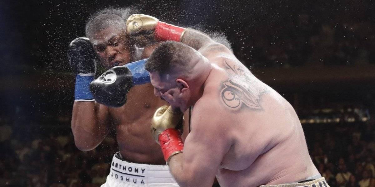 Andy Ruiz consigue histórica victoria derrotando a Anthony Joshua