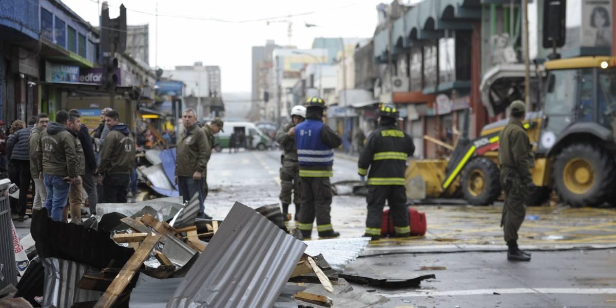 Las consecuencias del temporal: suspenden clases el lunes en cinco establecimiento de la Región del Biobío