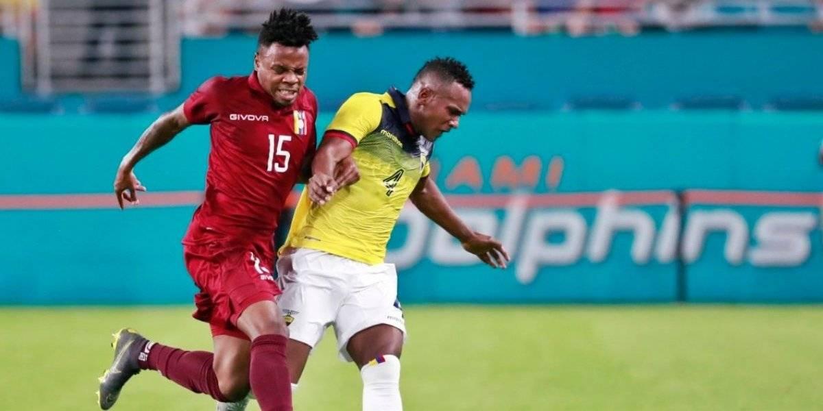Ecuador despertó sobre la hora para empatarle a Venezuela en amistoso previo a Copa América 2019