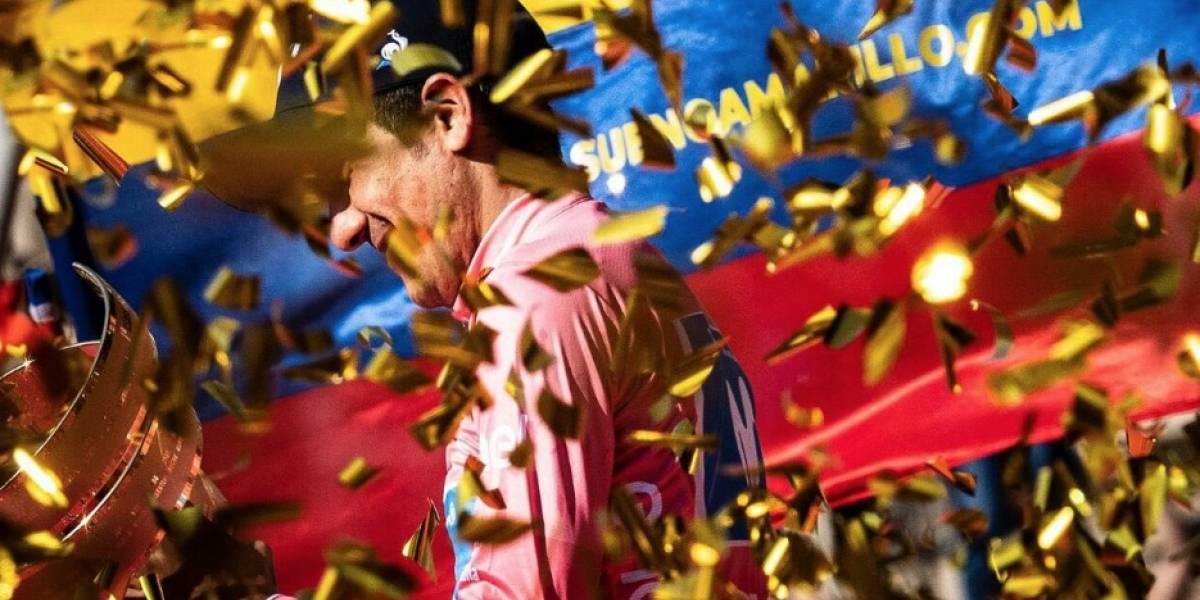 Giro de Italia: Richard Carapaz, el ciclista que comenzó con una bici en la chatarra
