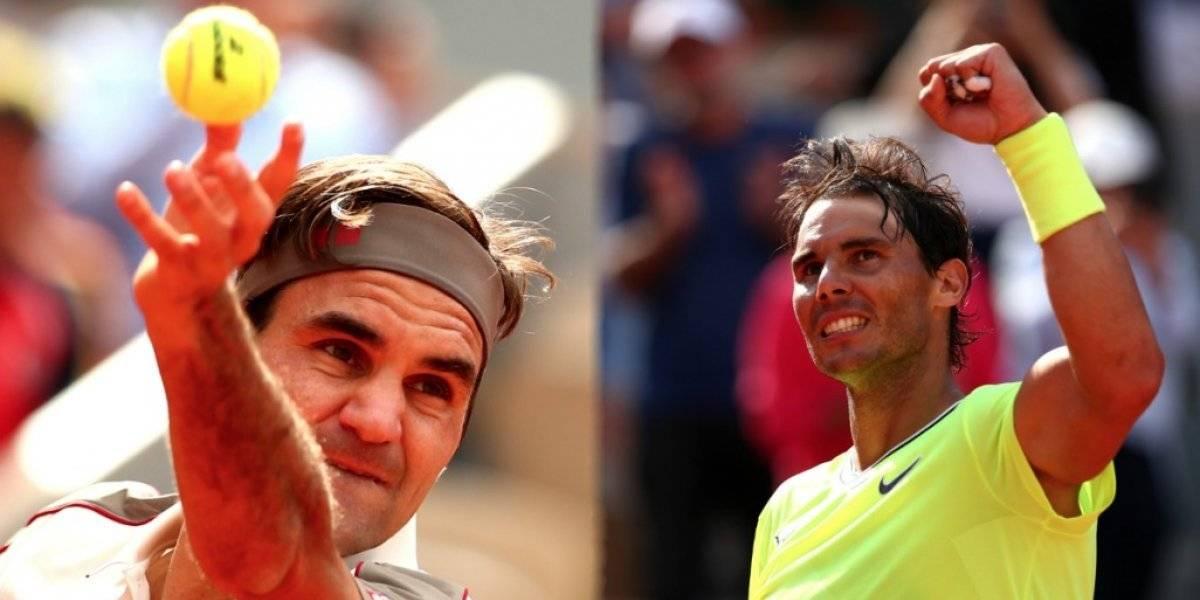 Federer y Nadal avanzan a los cuartos de final de Roland Garros