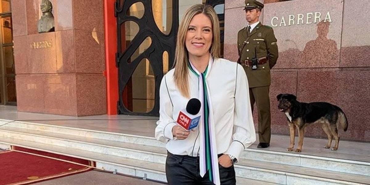 #SinTacos: Mónica Rincón sacó aplausos por asistir cómoda y con zapatillas a la Cuenta Pública