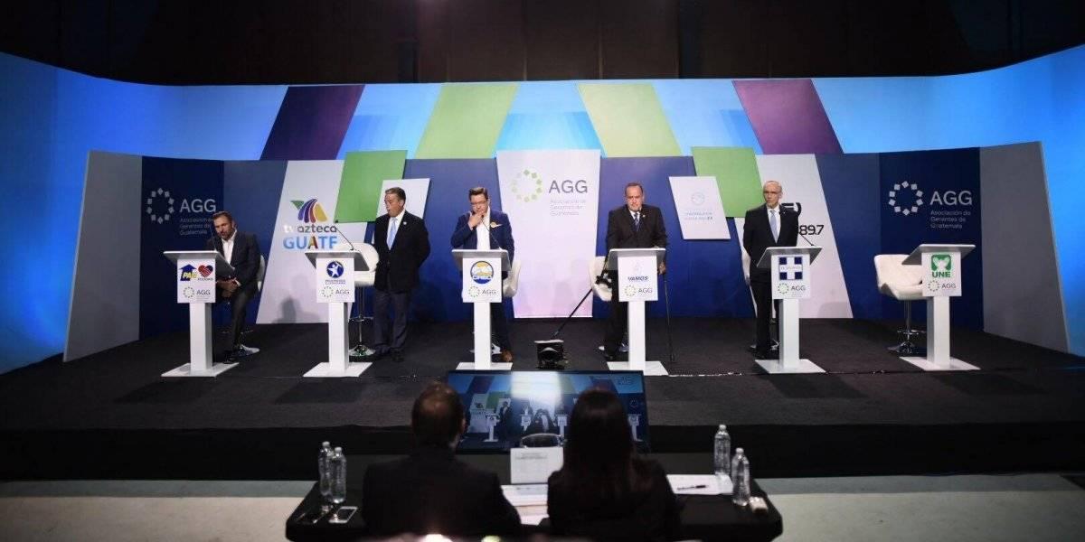 AGG realizó su cuarto debate, esta vez el de candidatos a presidente