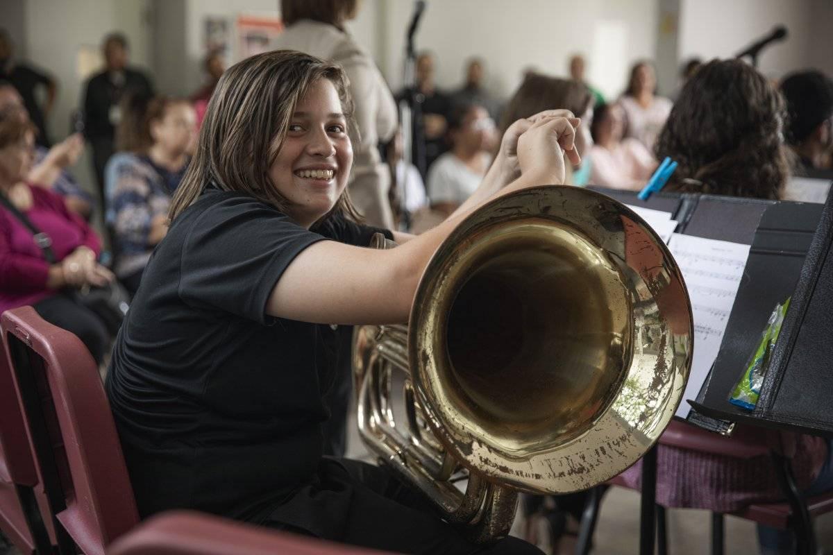 Banda Sinfónica de la Escuela Especializada Libre de Música Antonio Paoli