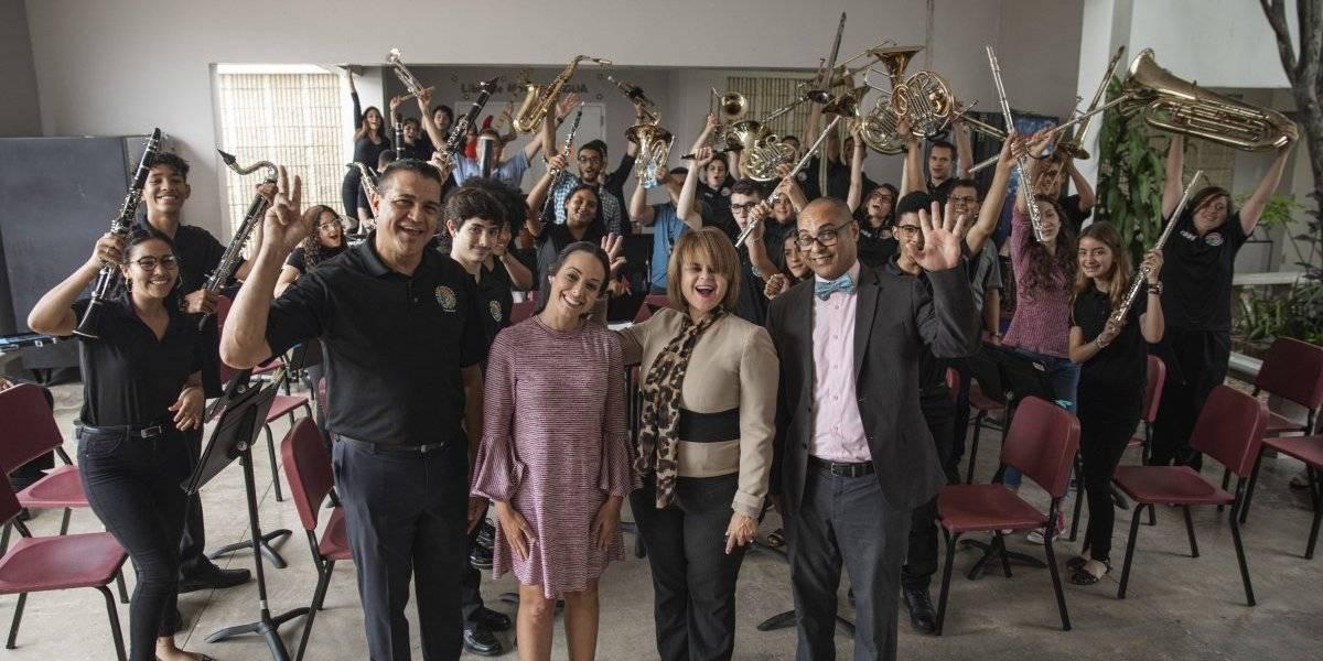 Estudiantes de la Banda Sinfónica de la Escuela Antonio Paoli representan a la isla en España