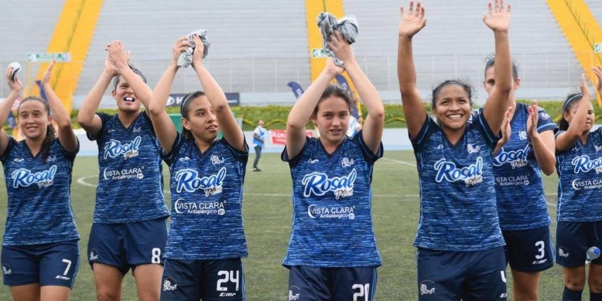 Unifut-Rosal más cerca del título nacional del futbol femenino