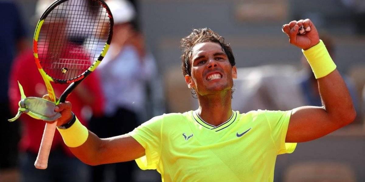 Nadal consiguió otra contundente victoria en su camino por un nuevo título de Roland Garros