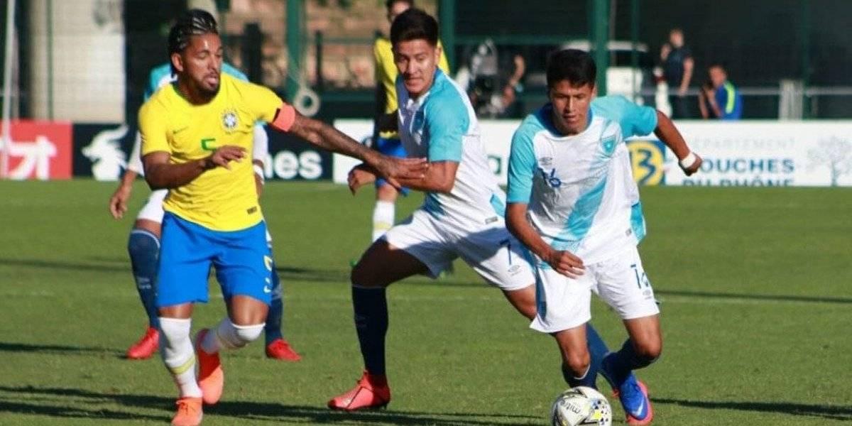 Guatemaltecos debutan con derrota en el Torneo Esperanzas de Toulon