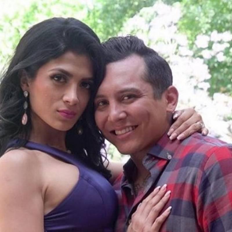 Así fue la boda de Edwin Luna y Kimberly Flores