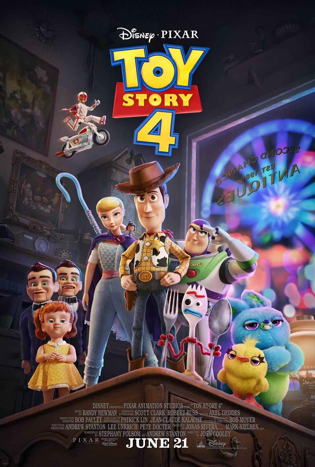 Preventas apuntan que Toy Story 4 romperá récords de taquilla, según expertos