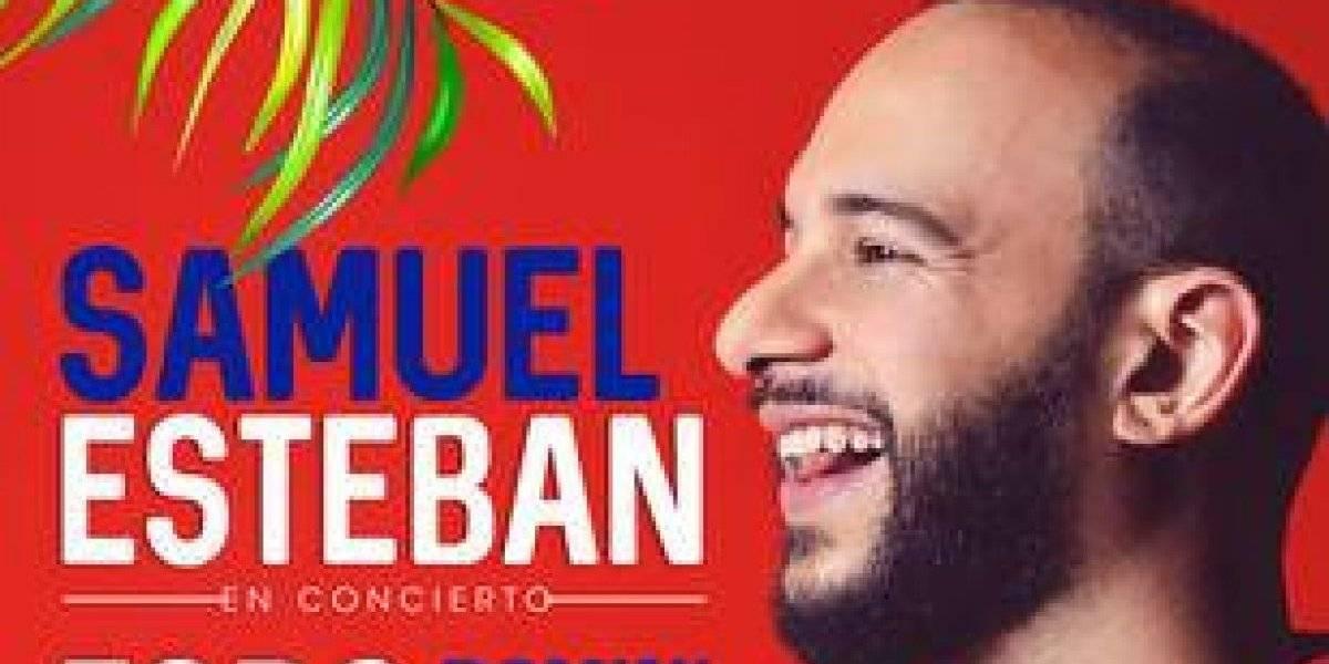 Samuel Esteban se presentará el 11 de junio en Madrid