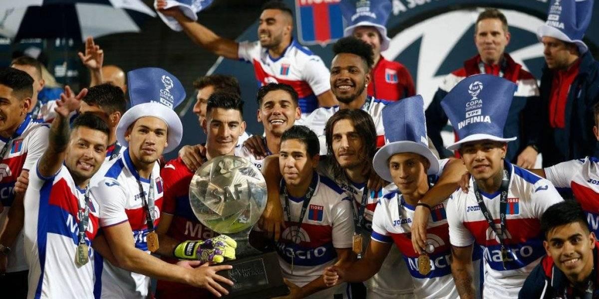 Tigre se impone sobre Boca y gana la copa de la Superliga