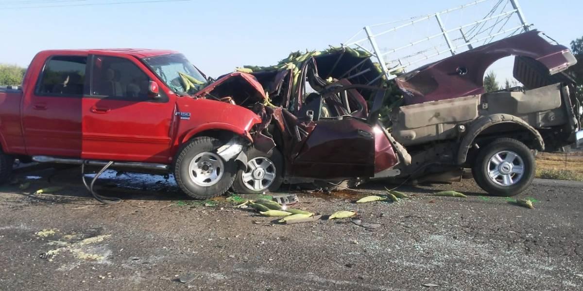 Un muerto y cuatro heridos en choque carretero en Los Altos de Jalisco