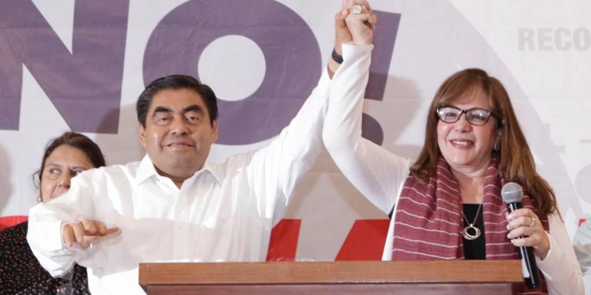 Conteo rápido en Puebla le da la victoria a Miguel Barbosa
