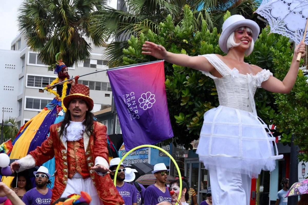 La marcha del Orgullo LGBTT en Puerto Rico cumple 29 años de comenzar. Denis Jones
