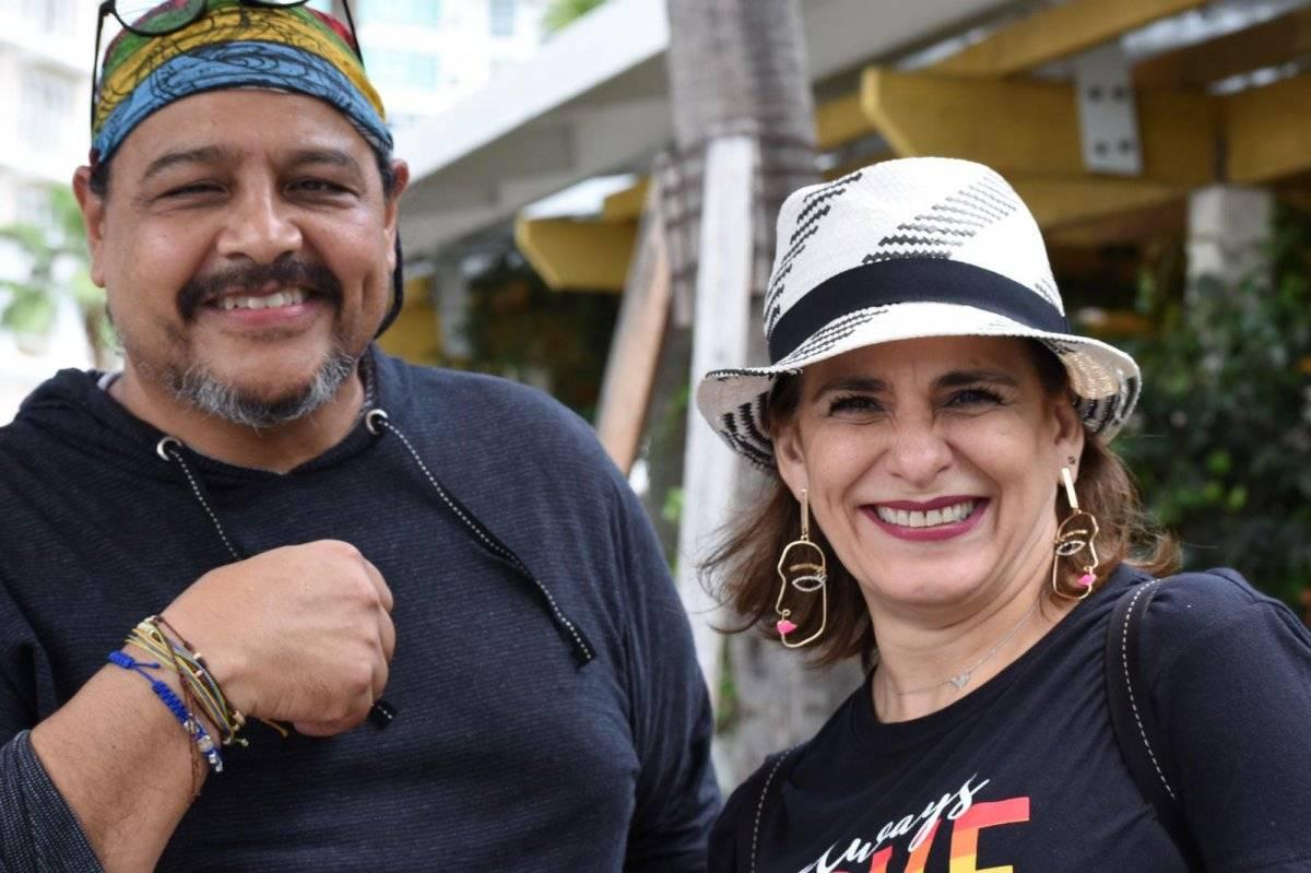 Los senadores José Vargas Vidoy y Zoé Laboy también participaron del evento. Suministrada