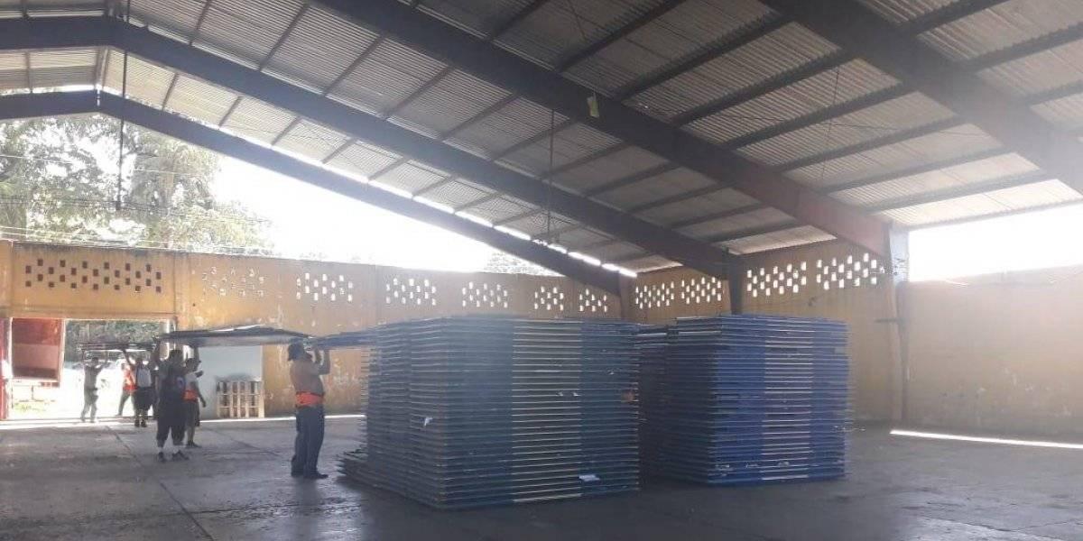 Mobiliario electoral llega al departamento de Suchitepéquez