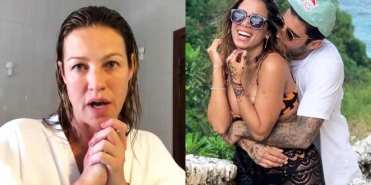 Luana Piovani volta a criticar namoro de Pedro Scooby e Anitta: 'Dói ver ele fazer da nova relação um show'