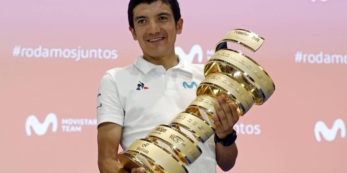 ¡Para llorar! El emotivo mensaje que Richard Carapaz publicó en Instagram tras ganar el Giro de Italia