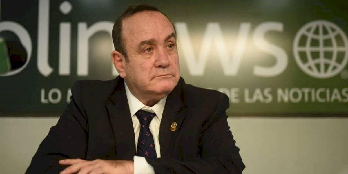 Alejandro Giammattei manifiesta su apoyo a la iniciativa 5272