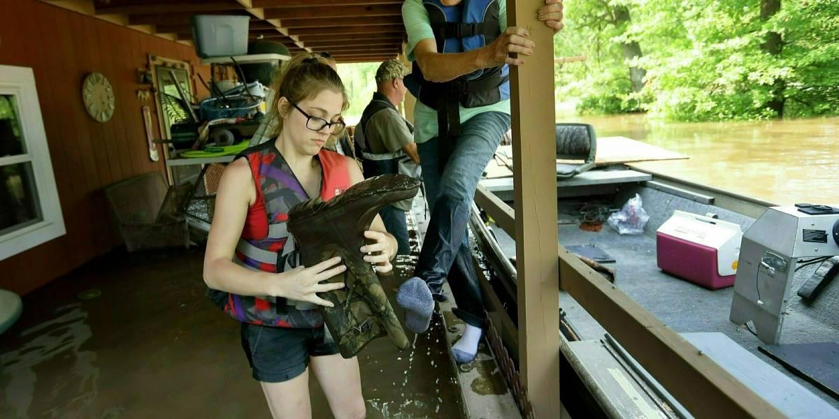 Inundaciones en río Mississippi alcanzan niveles históricos