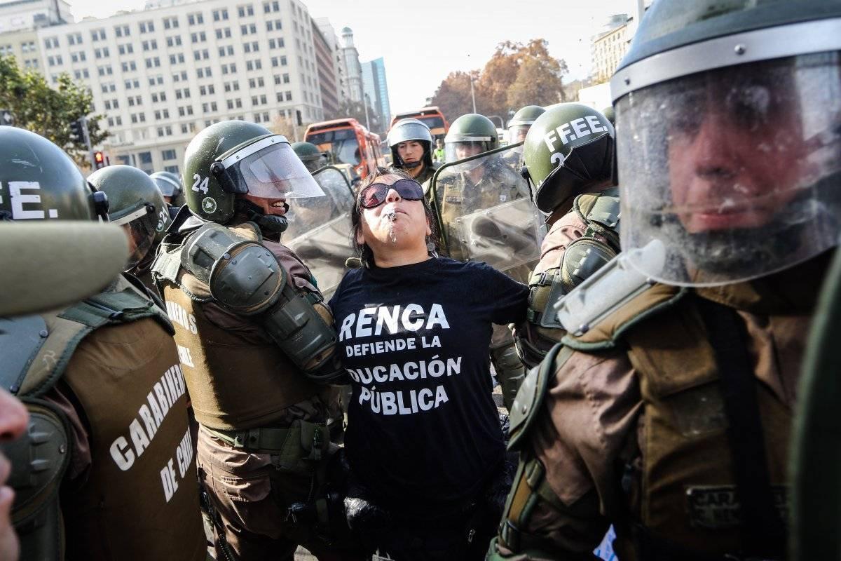Protestas Colegio de Profesores