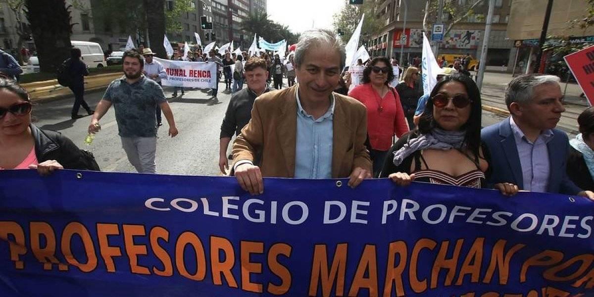 Profesores de Chile inician huelga por tiempo indefinido