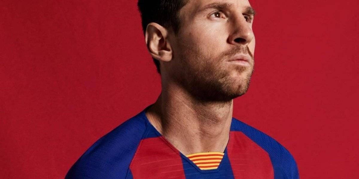 Barcelona presenta su nueva playera 'estilo Croacia'