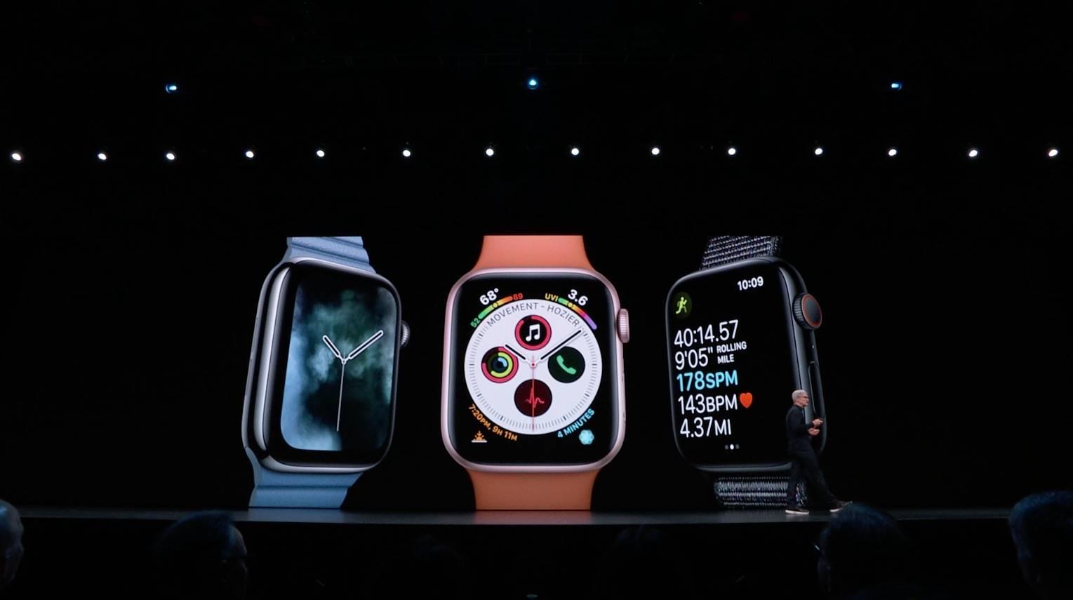 Apple presenta todas las novedades de WatchOS 6 #WWDC19