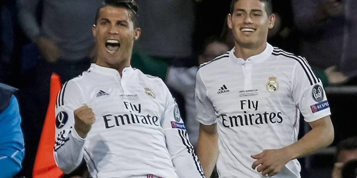 Cristiano Ronaldo quiere que James fiche por la Juventus